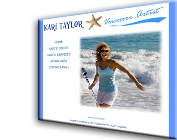 Kari Taylor Voiceover Artist Website